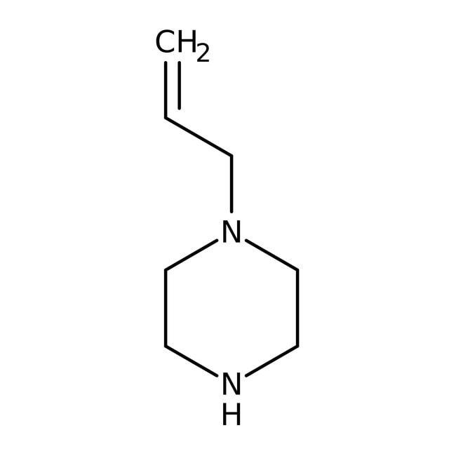 1-Allylpipérazine, 99%, ACROS Organics™ 5g; flacon en verre 1-Allylpipérazine, 99%, ACROS Organics™