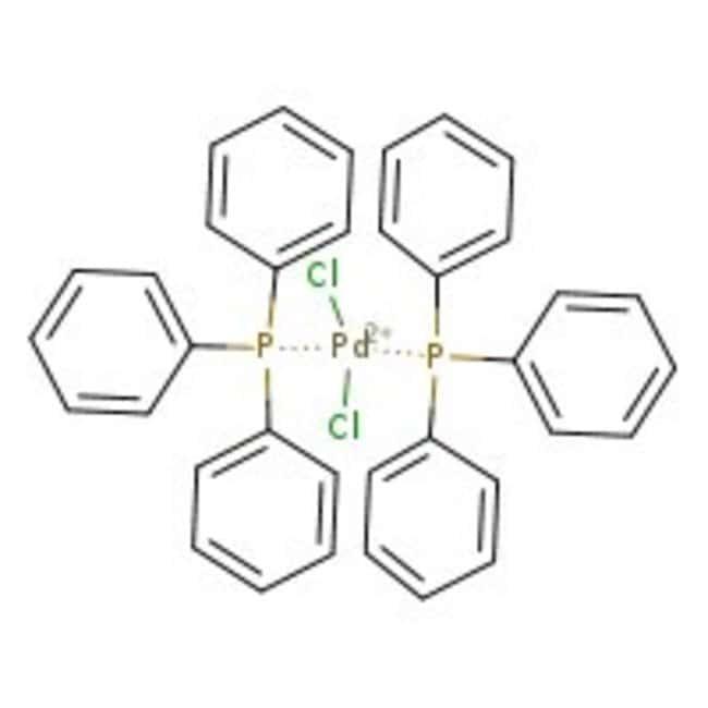 Bis(triphenylphosphine)palladium(II) chloride, for analysis, 15% Pd, ACROS Organics