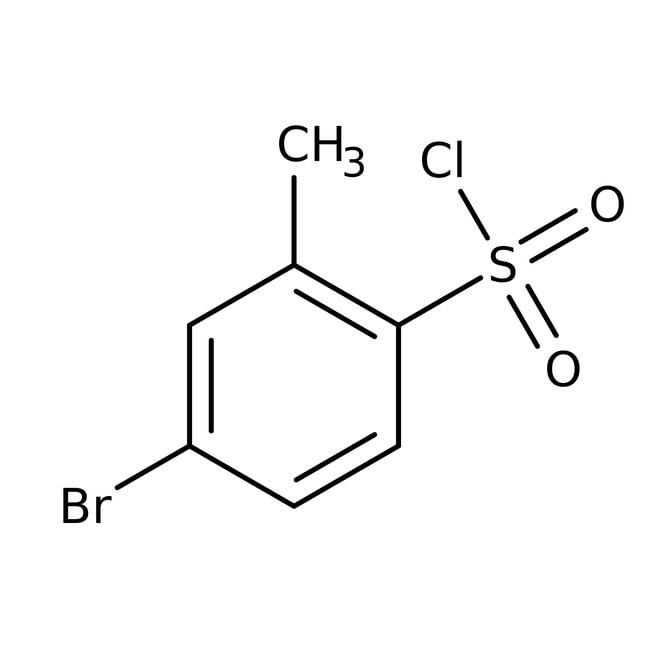 4-Bromo-2-methylbenzene-1-sulfonyl chloride, 97%, ACROS Organics™