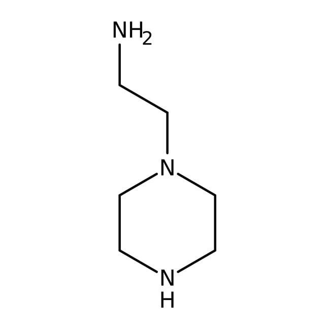 1-(2-Aminoethyl)piperazine, 99%, ACROS Organics™ 100g; Glass bottle 1-(2-Aminoethyl)piperazine, 99%, ACROS Organics™