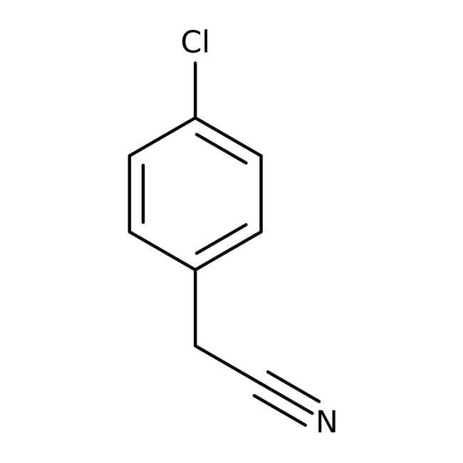 Cyanure de 4-chlorobenzyle, 98+%, ACROS Organics™: Benzene and substituted derivatives Benzenoids