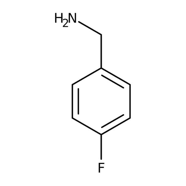 4-Fluorobenzylamine, 97%, ACROS Organics