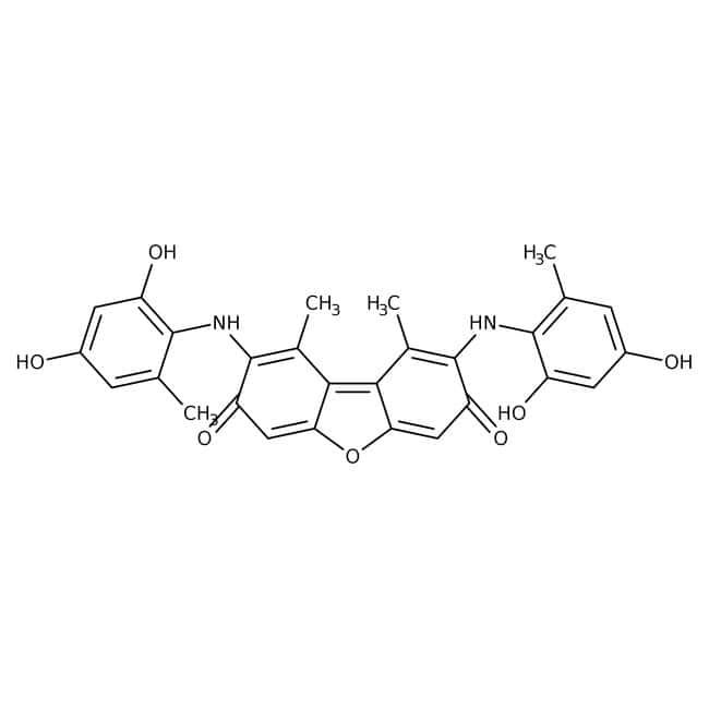 orcein, ACROS Organics™ 100g; Glass bottle orcein, ACROS Organics™