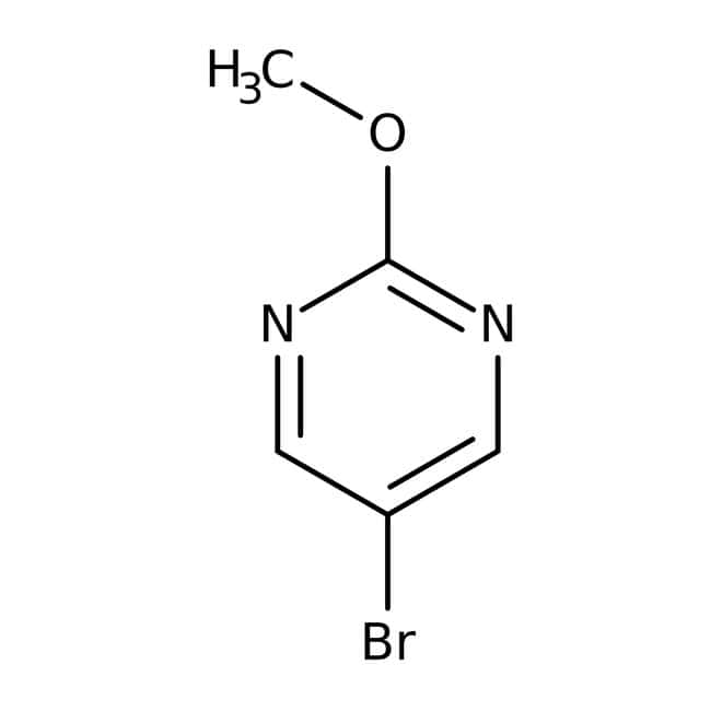 5-Bromo-2-methoxypyrimidine, 97%, ACROS Organics™ 5g 5-Bromo-2-methoxypyrimidine, 97%, ACROS Organics™