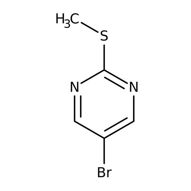 5-Bromo-2-(methylthio)pyrimidine, 97%, ACROS Organics
