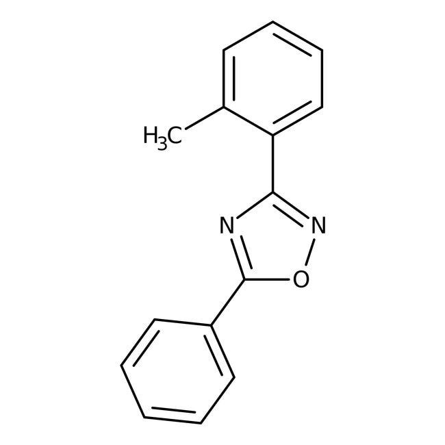 Alfa Aesar™3-(2-Methylphenyl)-5-phenyl-1,2,4-oxadiazole, 97%