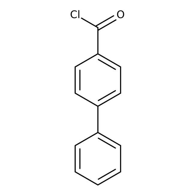 4-Biphenylcarbonyl chloride, 98%, ACROS Organics™