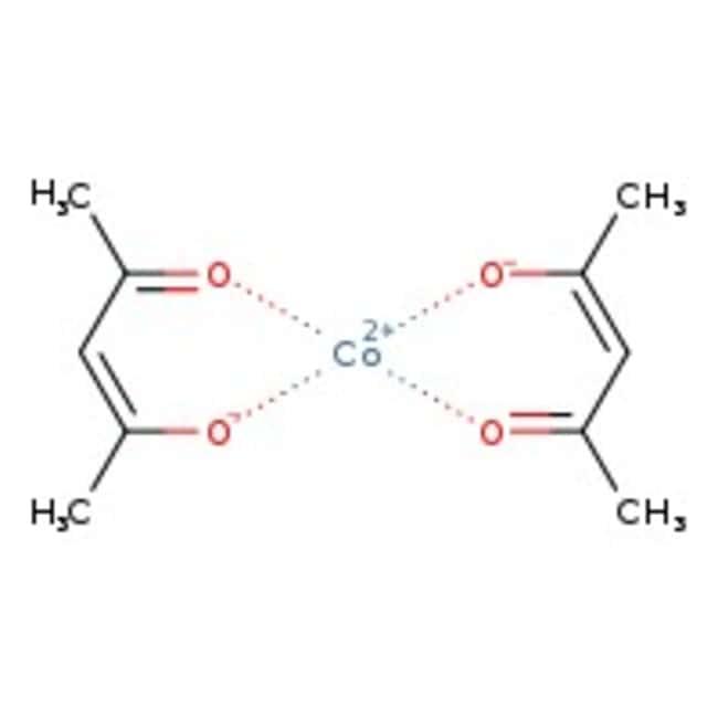 Alfa Aesar™Cobalt(II) 2,4-pentanedionate 50g Alfa Aesar™Cobalt(II) 2,4-pentanedionate