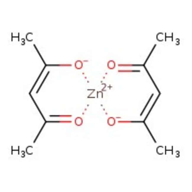 Zinc(II) acetylacetonate, ca. 25% Zn, Acros Organics