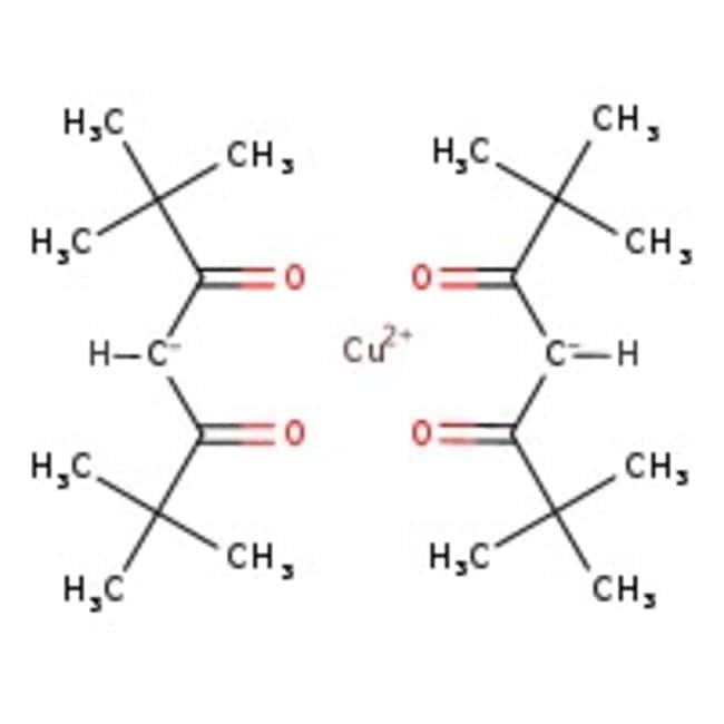 Alfa Aesar  Bis(2,2,6,6-tetramethyl-3,5-heptanedionato)copper(II), 99.9% (metals basis)