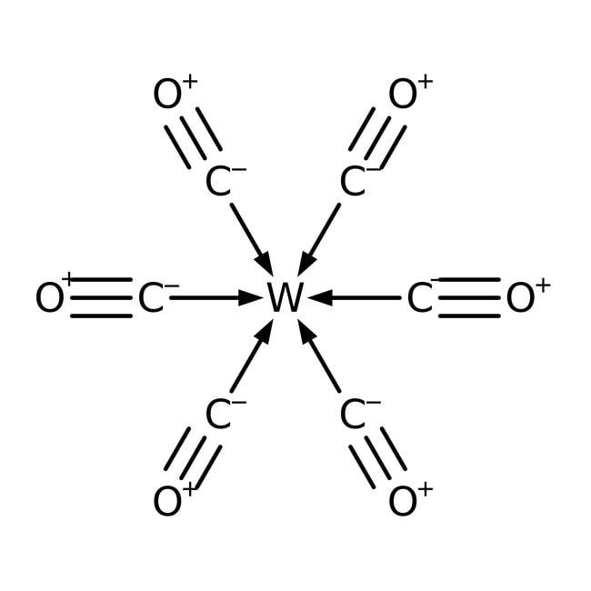 Tungsten hexacarbonyl, 99%, ACROS Organics™ 250g; Glass bottle Tungsten hexacarbonyl, 99%, ACROS Organics™