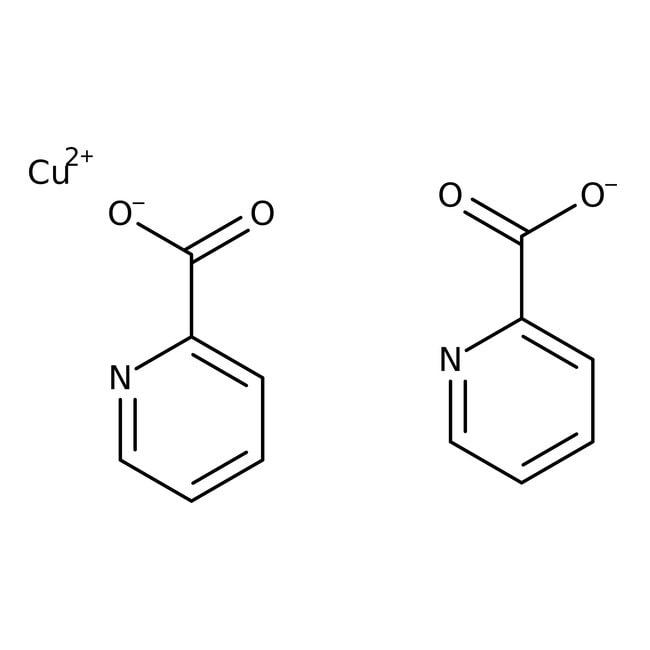 Copper(II) picolinate, 98%, ACROS Organics™ 25g Copper(II) picolinate, 98%, ACROS Organics™