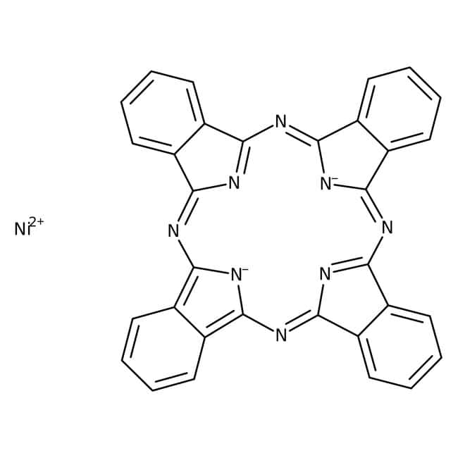 Phthalocyanine de nickel, 95%, Acros Organics 5g; flacon en verre Phthalocyanine de nickel, 95%, Acros Organics