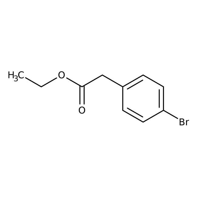 Ethyl 4-bromophenylacetate, 99%, Acros Organics: Halobenzenes Benzene and substituted derivatives