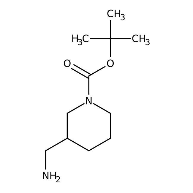 (S)-1-BOC-3-(Aminomethyl)piperidine, 97%, ACROS Organics™