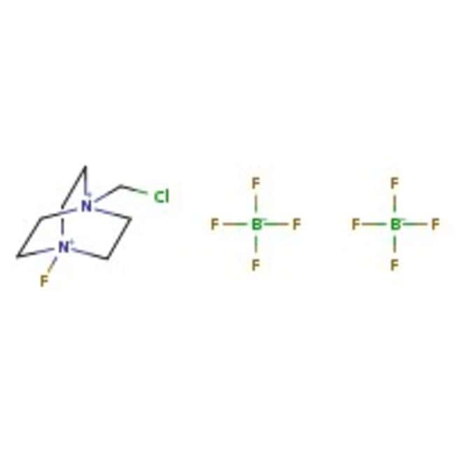 1-Chloromethyl-4-fluoro-1,4-diazoniabicyclo[2.2.2]octane bis(tetrafluoroborate), 96%, ACROS Organics™