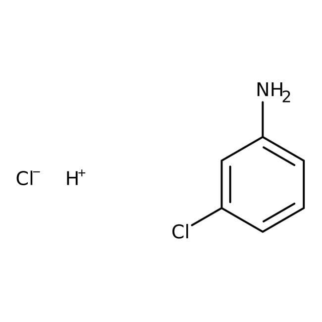 Alfa Aesar™Chlorhydrate de 3-chloroaniline, 97% 100g Alfa Aesar™Chlorhydrate de 3-chloroaniline, 97%