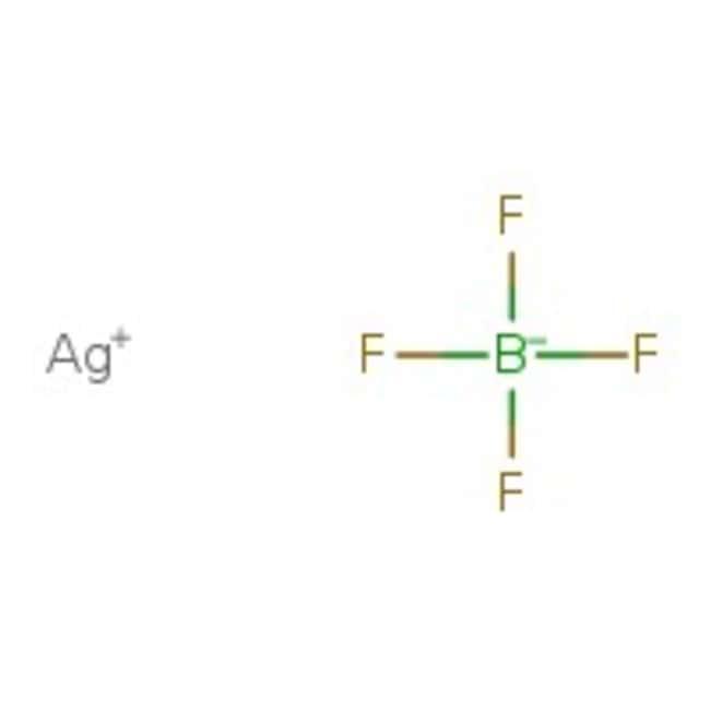 Silver tetrafluoroborate, 99%, ACROS Organics