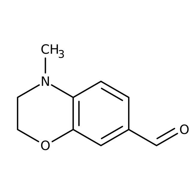 4-Methyl-3,4-dihydro-2H-1,4-benzoxazine-7-carbaldehyde, 97%, Maybridge