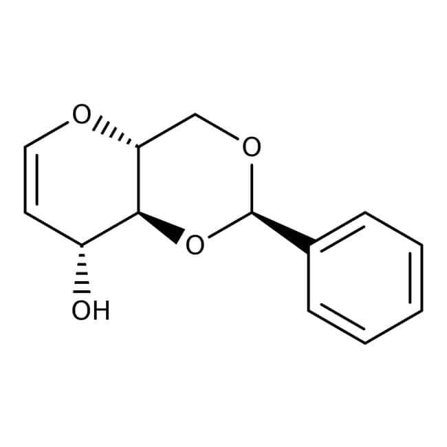 Alfa Aesar™4,6-O-Benzylidene-D-glucal, 97%: Biochemikalien Chemicals