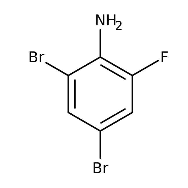 2,4-Dibromo-6-fluoroaniline, 97%, Maybridge™