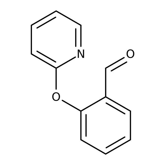 2-(Pyrid-2-yloxy)benzaldehyde, 97%, Maybridge Amber Glass Bottle; 250mg 2-(Pyrid-2-yloxy)benzaldehyde, 97%, Maybridge
