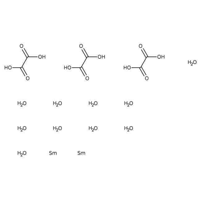 Alfa Aesar™Samarium(III) oxalate hydrate, REacton™, 99.97% (REO)