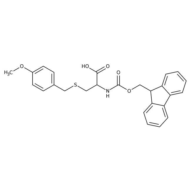 Alfa Aesar™N-Fmoc-S-(4-methoxybenzyl)-L-cysteine, 95% 5g Alfa Aesar™N-Fmoc-S-(4-methoxybenzyl)-L-cysteine, 95%