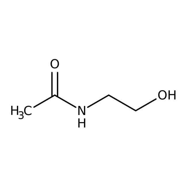 N-Acetylethanolamin, ACROS Organics™ 100 g-Glasflasche N-Acetylethanolamin, ACROS Organics™