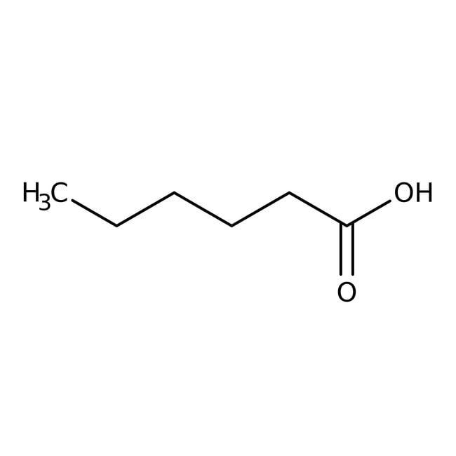 Hexanoic acid, 99%, Acros Organics™