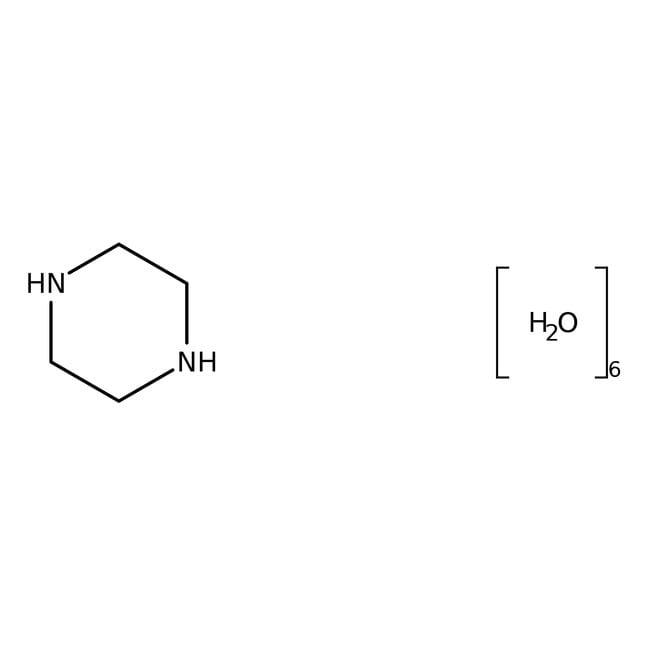 Alfa Aesar™Piperazinhhydrat, ≥97% 5000g Alfa Aesar™Piperazinhhydrat, ≥97%