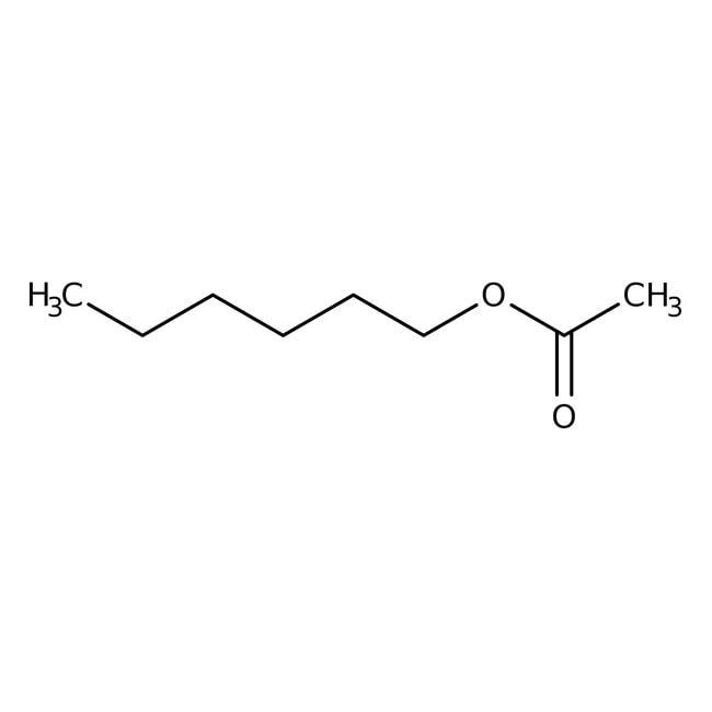 Hexyl acetate, 99%, ACROS Organics™ 25mL; Glass bottle Hexyl acetate, 99%, ACROS Organics™