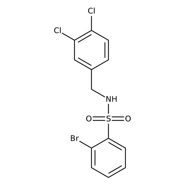 Alfa Aesar™2-Bromo-N-(3,4-dichlorobenzyl)benzenesulfonamide, 97%