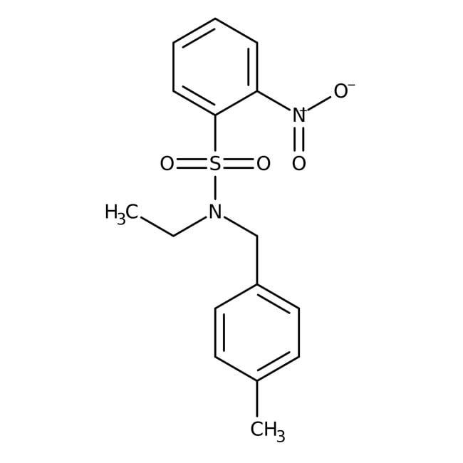 Alfa Aesar™N-Ethyl-N-(4-methylbenzyl)-2-nitrobenzenesulfonamide, 97% 250mg Alfa Aesar™N-Ethyl-N-(4-methylbenzyl)-2-nitrobenzenesulfonamide, 97%