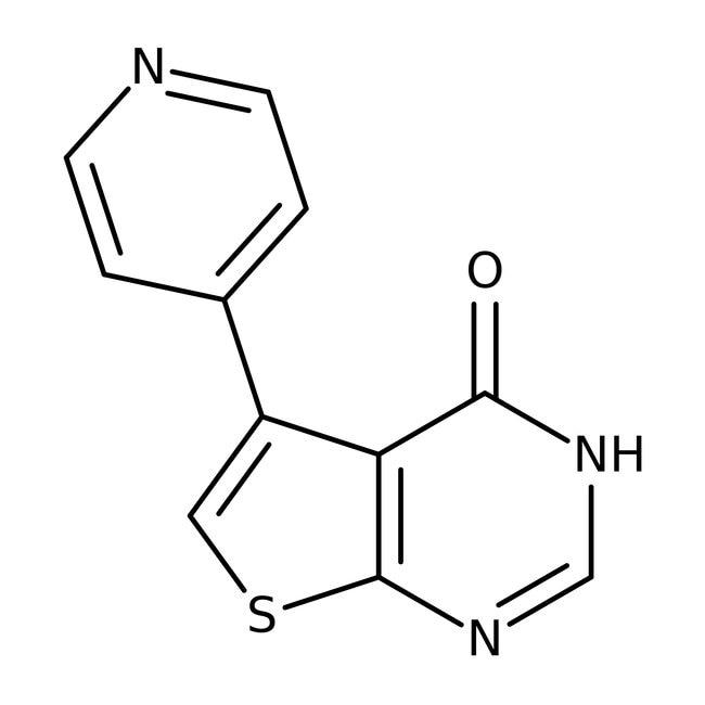5-(4-Pyridyl)thieno[2,3-d]pyrimidin-4(3H)-one, 97%, Alfa Aesar™ 5g 5-(4-Pyridyl)thieno[2,3-d]pyrimidin-4(3H)-one, 97%, Alfa Aesar™