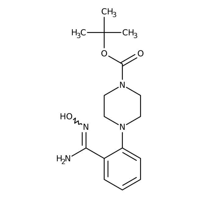 Alfa Aesar™2-(4-Boc-1-pipérazinyl)benzamidoxime, 97% 5g Alfa Aesar™2-(4-Boc-1-pipérazinyl)benzamidoxime, 97%