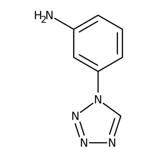 Alfa Aesar™3-(1H-Tetrazol-1-yl)aniline, 97% 250mg Alfa Aesar™3-(1H-Tetrazol-1-yl)aniline, 97%