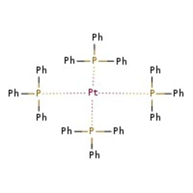 Alfa Aesar™Tetrakis(triphenylphosphine)platinum(0), Pt 15.2% min