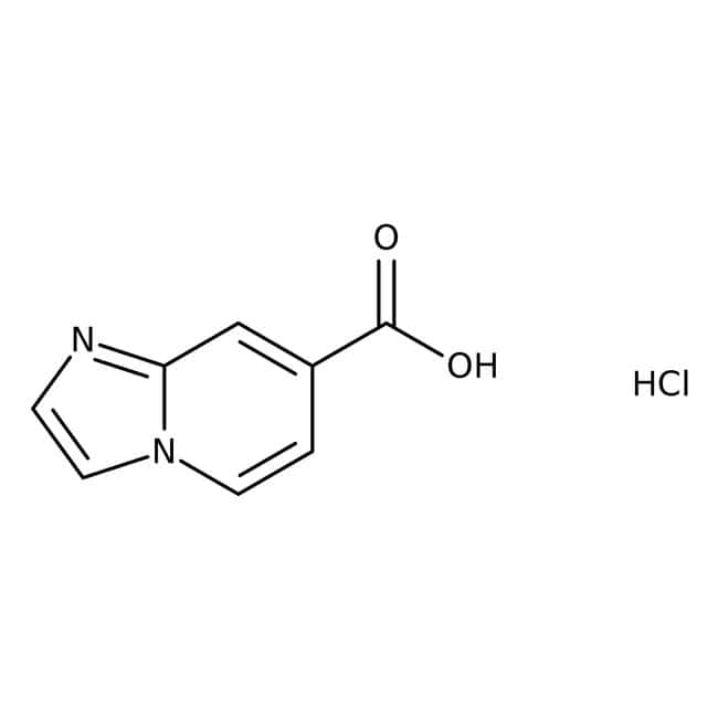 Imidazo-[1,2-a]-pyridin-7-carbonsäure Hydrochlorid, 97%, Acros Organics™  Imidazo-[1,2-a]-pyridin-7-carbonsäure Hydrochlorid, 97%, Acros Organics™