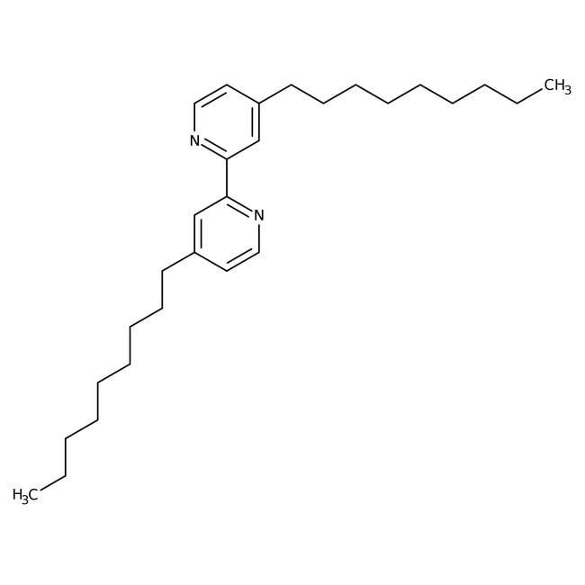 Alfa Aesar™4,4'-Di-n-nonyl-2,2'-bipyridin, 97% 1g Alfa Aesar™4,4'-Di-n-nonyl-2,2'-bipyridin, 97%