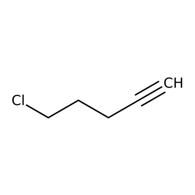 5-Chloro-1-pentyne, 98%, ACROS Organics™ 5g; Glass bottle 5-Chloro-1-pentyne, 98%, ACROS Organics™