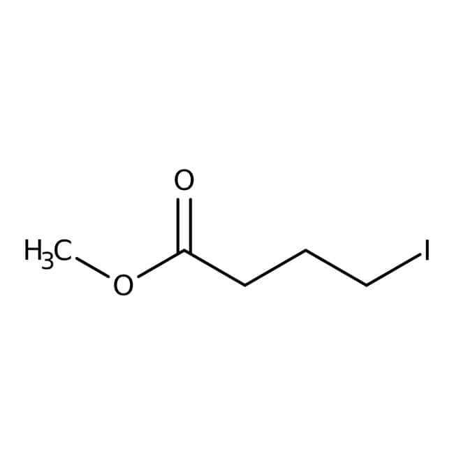 Methyl 4-iodobutyrate, 95%, stabilized, ACROS Organics™