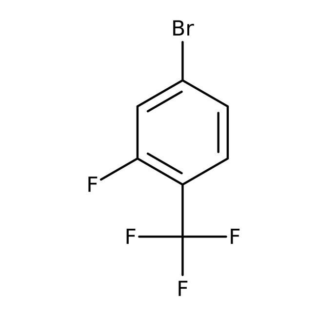 Alfa Aesar™4-Bromo-2-fluorobenzotrifluoride, 97% 5g Alfa Aesar™4-Bromo-2-fluorobenzotrifluoride, 97%