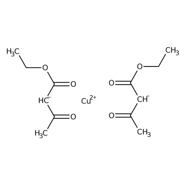 Alfa Aesar™Kupfer(II)-Ethylacetoacetat, 97% 2g Alfa Aesar™Kupfer(II)-Ethylacetoacetat, 97%