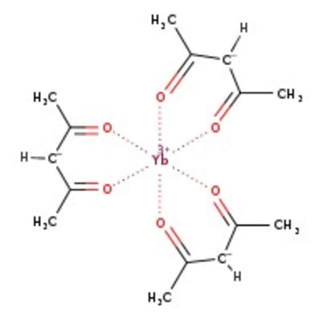 Alfa Aesar™Ytterbium(III)2,4-pentanedionate, REacton™, 99,9% (REO) 10g Alfa Aesar™Ytterbium(III)2,4-pentanedionate, REacton™, 99,9% (REO)