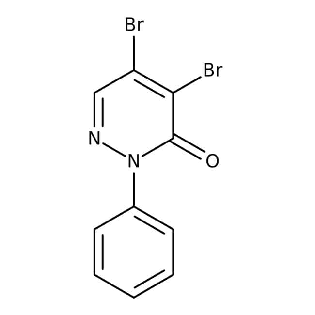 4,5-Dibromo-2-phenyl-2,3-dihydropyridazin-3-one, 97%, Maybridge™