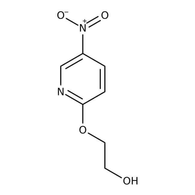 2-[(5-Nitro-2-pyridyl)oxy]ethan-1-ol, 97%, Maybridge