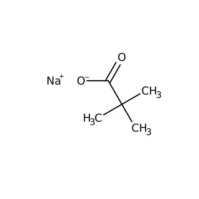 Sodium pivalate hydrate, 99%, ACROS Organics