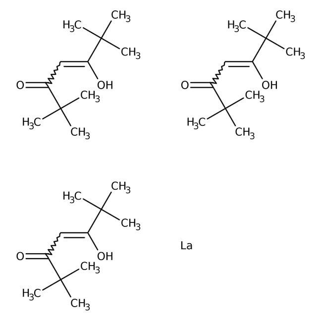 Alfa Aesar  Tris(2,2,6,6-tetramethyl-3,5-heptanedionato)lanthanum(III), 98%
