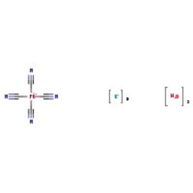 Alfa Aesar™Potassium tetracyanoplatinate(II) trihydrate, 99.9% (metals basis), Pt 44.9% min